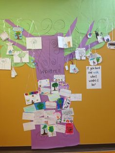 """""""Getting our wishtree ready for @kaaauthor at Izzy B!"""""""