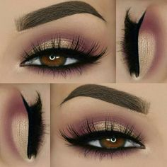 Gorgeous Makeup: Tips and Tricks With Eye Makeup and Eyeshadow – Makeup Design Ideas Gorgeous Makeup, Pretty Makeup, Love Makeup, Beauty Makeup, Neutral Makeup, Makeup Set, Perfect Makeup, Beauty Tips, Hair Beauty