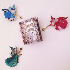 Sleeping beauty Disney trading pins