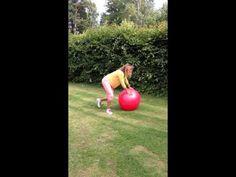 Träna med boll, liten perfekt och effektiv cirkel! - YouTube