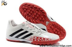 2013 2013 adidas Predator TF White Black Red Soccer Shoes Store