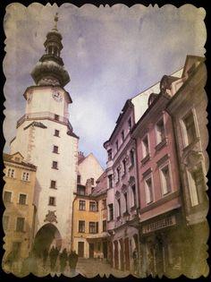 Michalská Brána. Bratislava, Slovakia.
