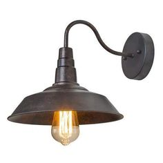 troy lighting b2771 toledo 1 light industrial wall sconce old silver