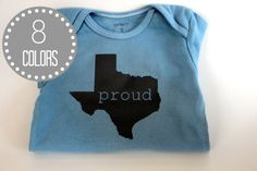 How cute is this Texas onesie??