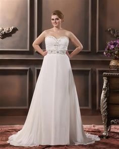 Plus Size Wedding Dresses #WeddingSerendipity #Fashion #Wedding #Gown #Dress