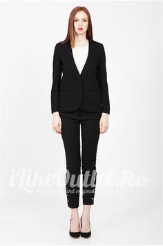 Sacou negru clasic COS Cos, Blazer, Jackets, Women, Style, Fashion, Down Jackets, Swag, Moda