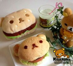 Image about cute in Yummy(: by Savannah on We Heart It Japanese Food Art, Japanese Dishes, Japanese Sweets, Cute Snacks, Cute Desserts, Comida Picnic, Bento Recipes, Tasty, Yummy Food