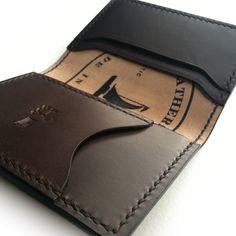 Men's Leather Pocket Wallet   J Michael Leathersmith