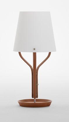 """Hermes , Lampe de table """"Harnais"""", Michele de Lucchi"""
