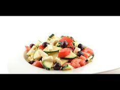 Courgette salade met feta recept - Supersnel gezond