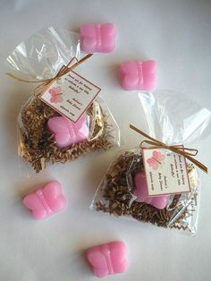 20 Butterfly Baby Shower Glycerin Soap Favors by brownbagbathbars, $28.00