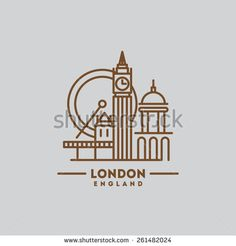 Minimalist Icon London England Flat One Stock Vector (Royalty Free) 261482024 Minimalist Icons, London Icons, Book Journal, London England, Royalty Free Stock Photos, Flat, Mood, Drawings, Illustration