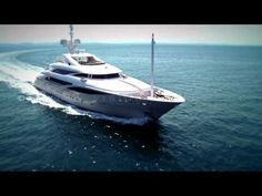 Superyacht ISA 63m: EXCLUSIVE VIDEO. - YouTube