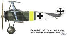 Löffler's Fokker Dr.I