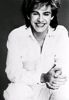 Has THE BEST smile EVER!!!! Just touches my soul! <3  Duran Duran - Nick Rhodes