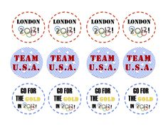Olympic Crafts (Olympics for 2012) with Free Printables from C.R.A.F.T.
