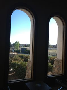 Paso Robles. The view from a window