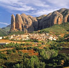 Agüero, Hoya de Huesca, Aragon, Spain
