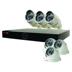 """Sale"" Revo Genesis HD 8 Channel NVR Surveillance System with 6 Security Cameras #RevoAmerica"
