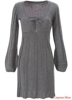 . Как вяжется платье - Машинное вязание - Страна Мам