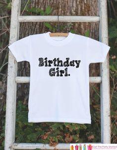 Kids Birthday Shirt - Birthday Girl Shirt - #clothing #children #tshirt @EtsyMktgTool #birthdayshirt #kidsbirthdayshirt #firstbirthdayshirt