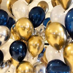 Buy birthday balloons man birthday boy child party decoration men balloons birthday 60 decoration kids happy birthday balloon at Wish - Shopping Made Fun Metallic Balloons, Gold Balloons, Helium Balloons, Latex Balloons, Blue Party Decorations, Graduation Decorations, Balloon Decorations, Graduation Balloons, Wedding Decorations