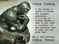 Definition critical thinking yahoo answers