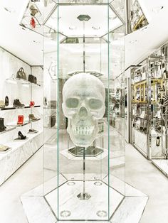 Claudio Pironi designs a Mayfair flagship for Philipp Plein / posted from Wallpaper