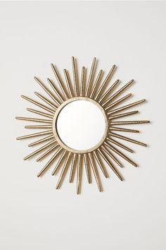 - Mirror Designs - Miroir rond Round mirror - Golden - Home All