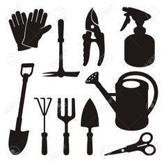 Gardening Tools Stock Illustrations, Cliparts And Royalty Free ...