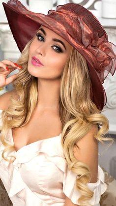 Hats For Women, Long Hair Styles, Beauty, Summer, Art, Fashion, Art Background, Moda, Summer Time