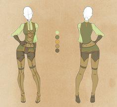 :: Commission Outfit July 14 :: by VioletKy.deviantart.com on @deviantART