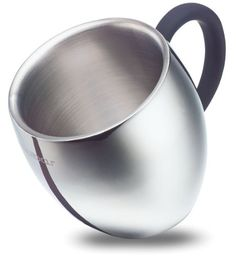 QQ Double Wall Stainless Steel Insulated Coffee Mug / Tea Cup (10oz) - $28 prime for one mug, 50 reviews 4.5 stars. Not microwavable.