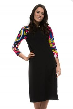 Pucci Print Sleeve Swim Dress