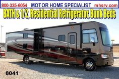 "New 2014 Coachmen Mirada 35BH Bunk Model, Bath 1/2, Res. Fridge, 39\"" TV For Sale by Motor Home Specialist available in Alvarado, Texas"