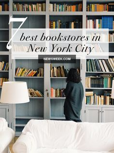 Here are a handful of bookstores that should be on every well-read visitors' list. Travel Literature, Literary Travel, Strand Bookstore, Blue Stockings, Waverly Place, Visiting Nyc, Travel Advisory, New York City Travel, Good Environment