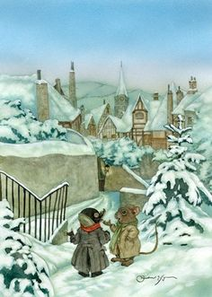 michael hague     The Wind in the Willows, mole, rat, Kenneth Grahame