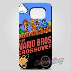 Super Mario Bros Crossover Samsung Galaxy Note 8 Case | casefantasy