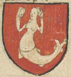 Armes de Mandin l'envoisié, 15e siècle