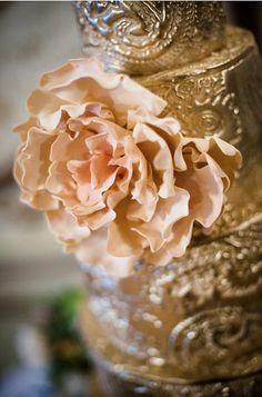 Ornate Gold #Wedding