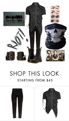 """""""Out and about"""" by pastel-punk-princess-of-night ❤ liked on Polyvore featuring Dr. Martens"""