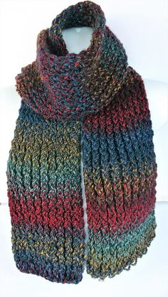 Check out this item in my Etsy shop https://www.etsy.com/uk/listing/486998378/blue-knitted-scarf-hipster-knit-scarf