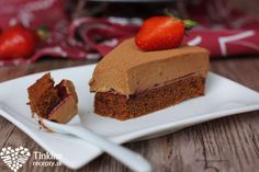 Tinkine recepty Brownie s AHA krémom Brownies, Cheesecake, Fit, Sweet, Cheesecakes, Cheesecake Pie
