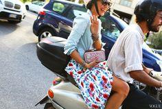 Photos: Milan Street Style Spring 2014 – Vogue