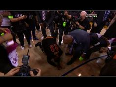 LeBron Collapses and Cries on the Court After Cavs Win NBA Finals