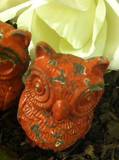 Owl Drawer Pulls Drawer Knobs Shabby Chic Knobs by LaBellasCottage, $11.50