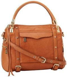 Rebecca Minkoff Cupid Shoulder Bag,Almond,One Size