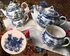 Porcelain Tea Set for One