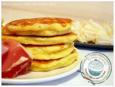 Diario della Mia Cucina: Pancake al grana con raspadüra e speck  Pancakes with grana