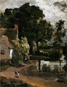 Willy Lot's House - John Constable